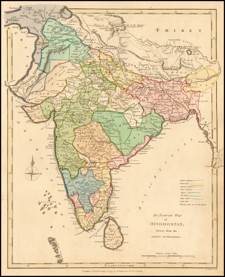 2-India Map By Robert Wilkinson