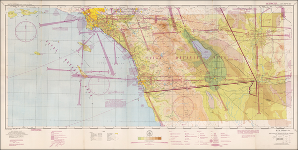 68-California and San Diego Map By U.S. Coast & Geodetic Survey