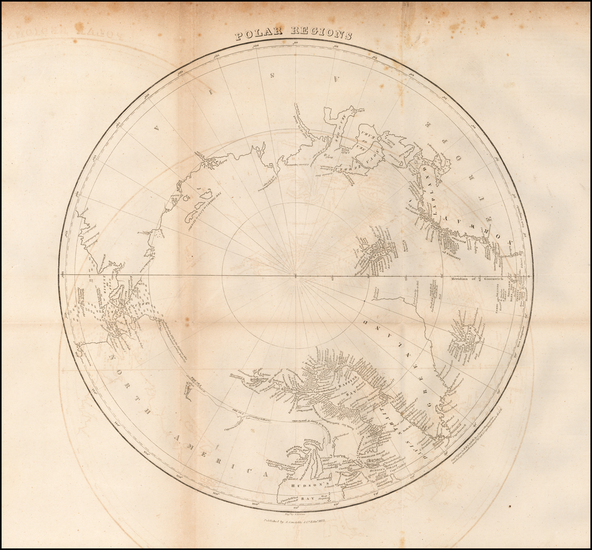 13-Polar Maps Map By William Home Lizars
