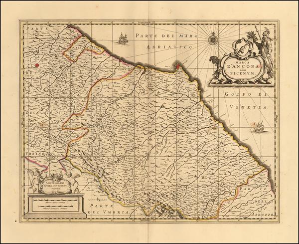 13-Northern Italy Map By Peter Schenk  &  Gerard Valk