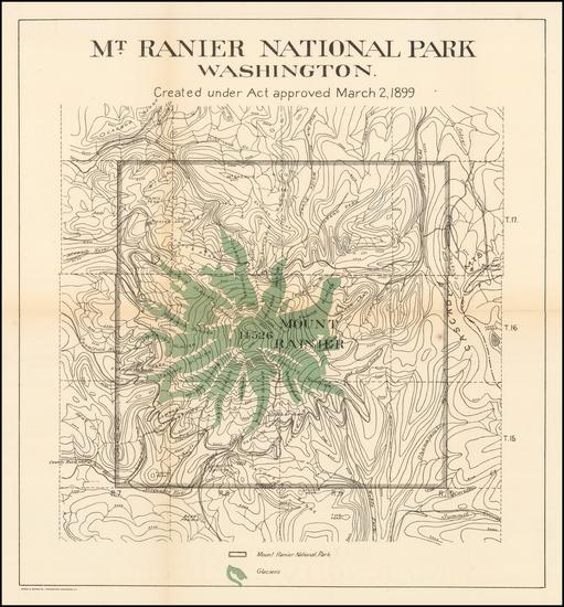 48-Washington Map By Andrew B. Graham
