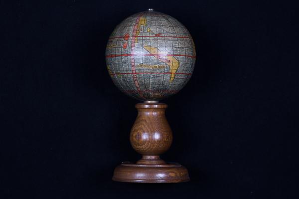 54-Globes & Instruments Map By Martin Waldseemüller / Nebehay