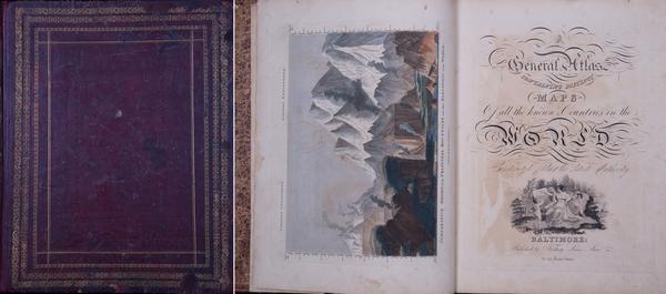 52-Atlases Map By Fielding Lucas Jr.