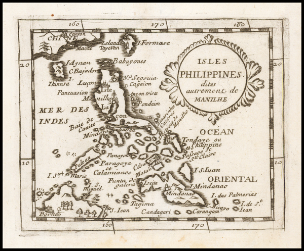 79-Philippines Map By Pierre Du Val