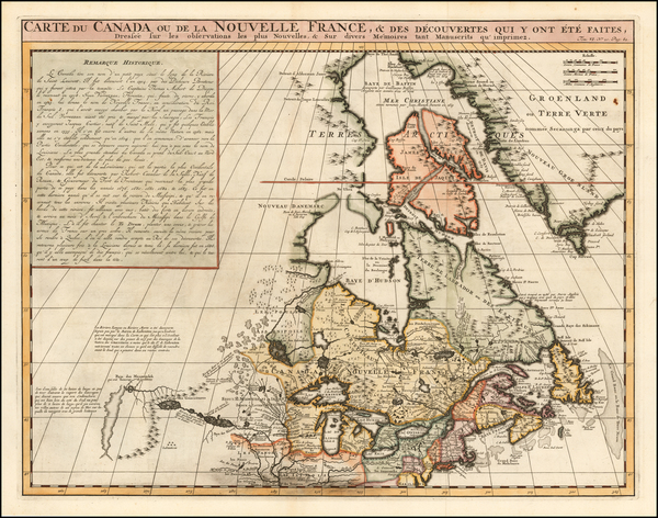 28-New England, Midwest and Canada Map By Henri Chatelain