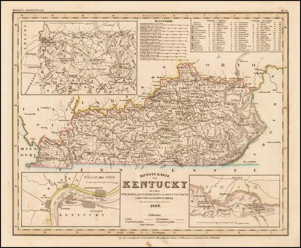 8-Kentucky Map By Joseph Meyer