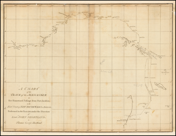 13-Other Islands, Pacific, Australia and Other Pacific Islands Map By Thomas G. Shortland