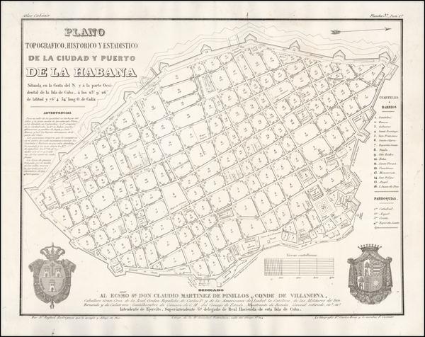 69-Cuba Map By Rafael Rodriguez