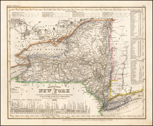 81-New York State Map By Joseph Meyer