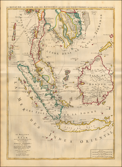 45-Southeast Asia, Singapore, Indonesia and Malaysia Map By Pieter Mortier