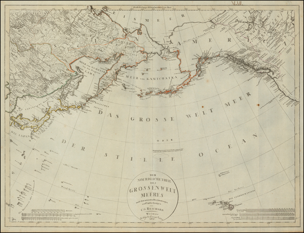 67-Polar Maps, Alaska, Canada, China, Japan, Korea, Pacific and Russia in Asia Map By Christian Go