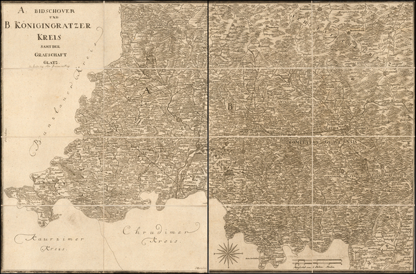 82-Czech Republic & Slovakia and Atlases Map By Peter Franza