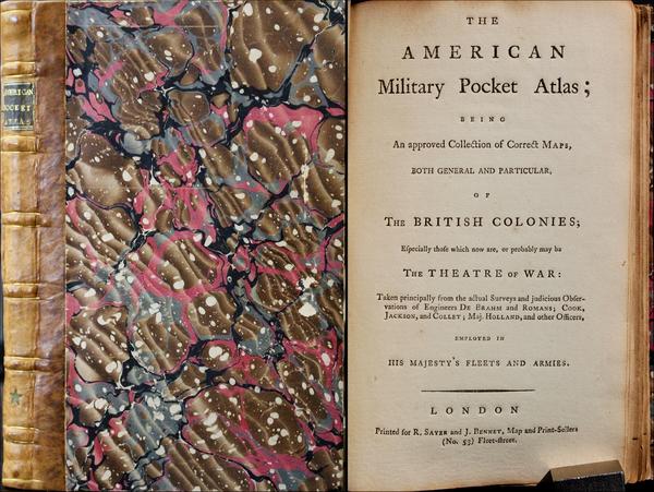 53-Atlases Map By Robert Sayer  &  Richard Bennett