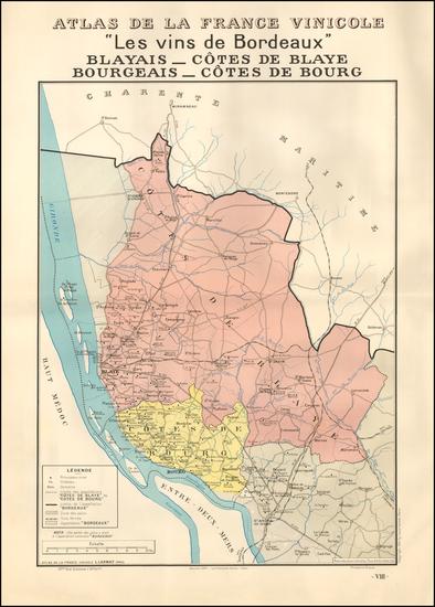 96-France Map By Louis Larmat