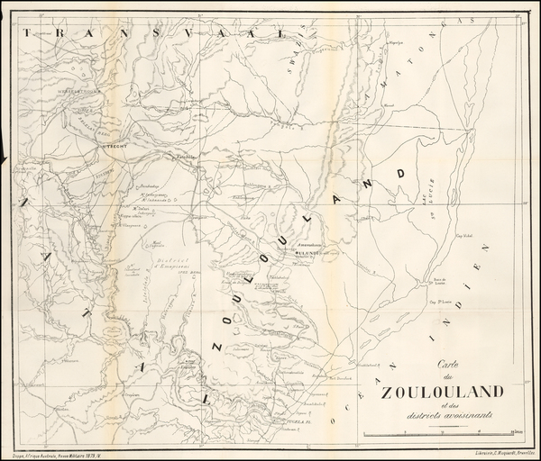 10-South Africa Map By Revue Militaire