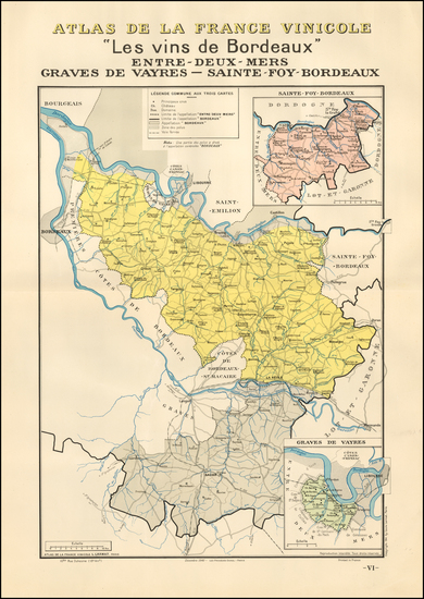 79-France Map By Louis Larmat