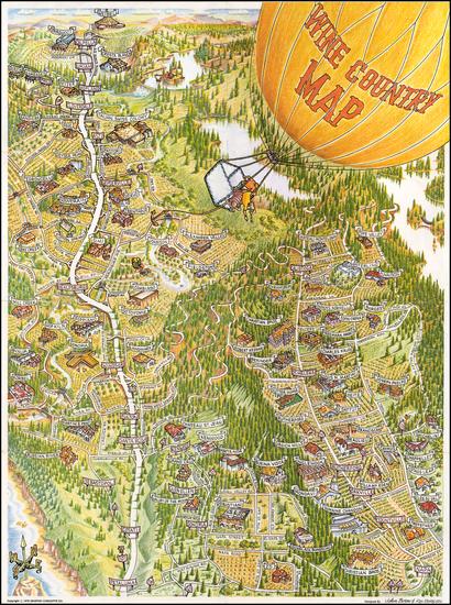 91-California Map By Ron Morales  &  John Born