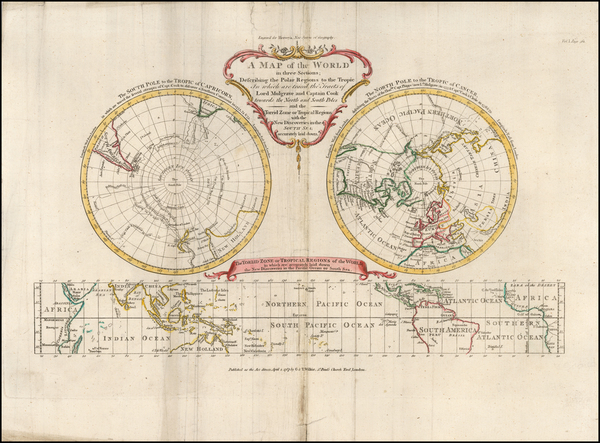 56-World and Polar Maps Map By Frederic Hervey