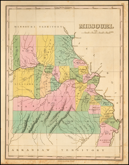 94-Midwest, Plains and Missouri Map By Anthony Finley