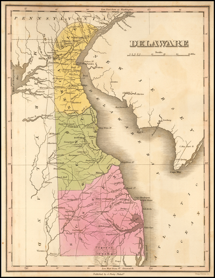 0-Mid-Atlantic and Delaware Map By Anthony Finley