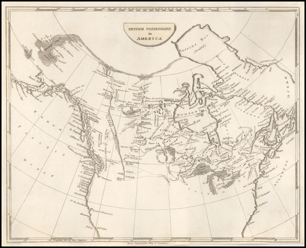 Plains, Rocky Mountains, Pacific Northwest and Canada Map By John Pinkerton