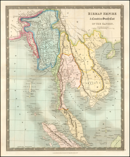 0-Southeast Asia, Indonesia and Malaysia Map By Henry Teesdale