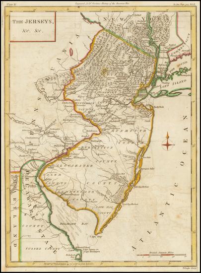 86-Mid-Atlantic Map By Thomas Conder