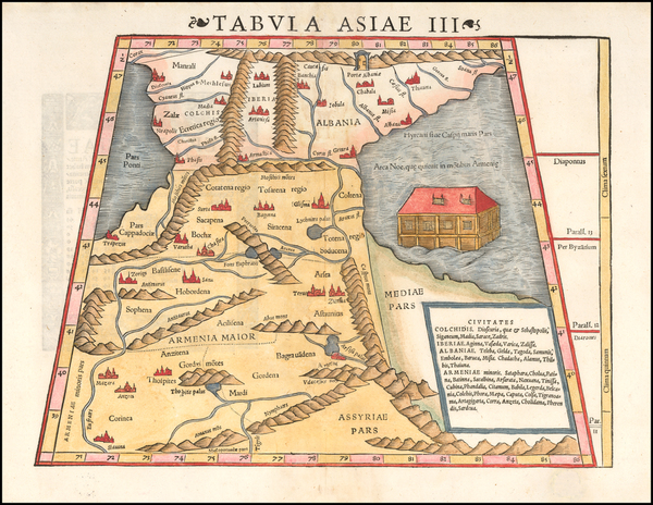 67-Central Asia & Caucasus, Middle East and Russia in Asia Map By Sebastian Munster