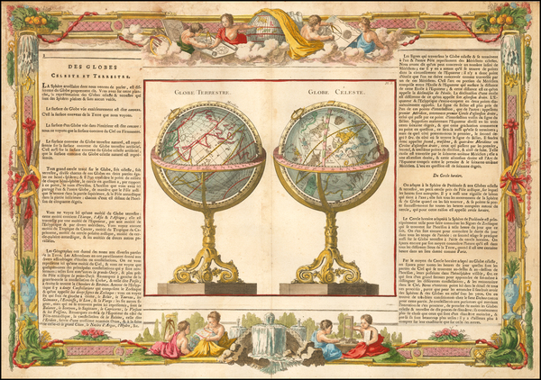66-World and Celestial Maps Map By Louis Brion de la Tour / Louis Charles Desnos