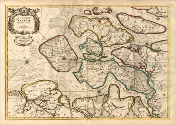 0-Netherlands Map By Pieter Mortier