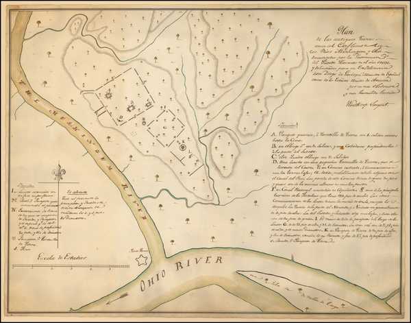 19-Midwest and Ohio Map By Winthrop Sargent
