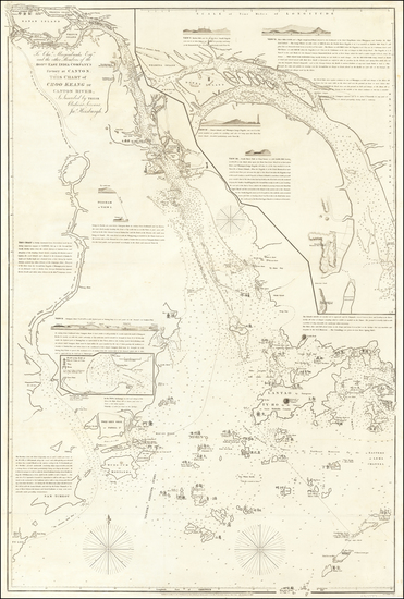 12-China and Hong Kong Map By James Horsburgh