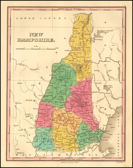 2-New England and New Hampshire Map By Anthony Finley