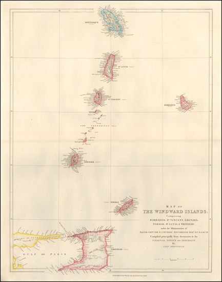 2-Other Islands Map By John Arrowsmith