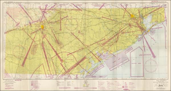 1-Texas Map By U.S. Coast & Geodetic Survey