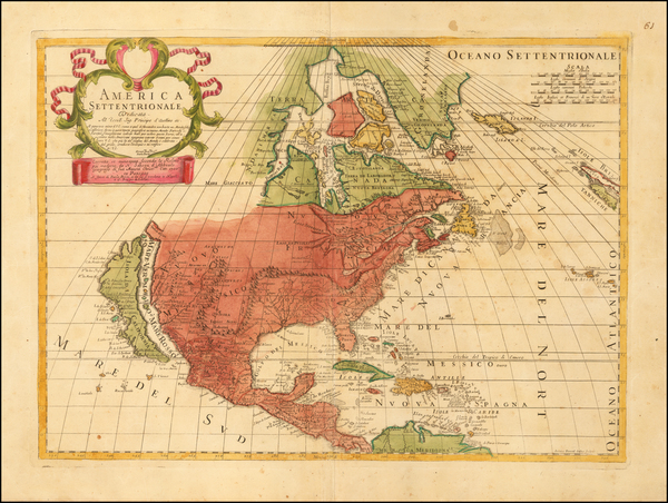 41-North America and California as an Island Map By Paolo Petrini