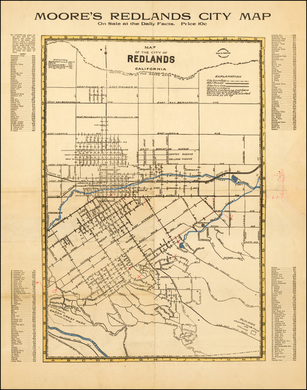 43-Other California Cities Map By Paul W. Moore