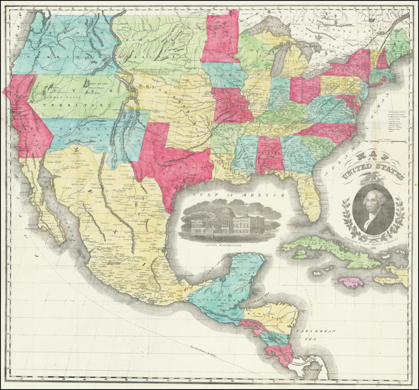 96-United States Map By Case, Tiffany & Co.