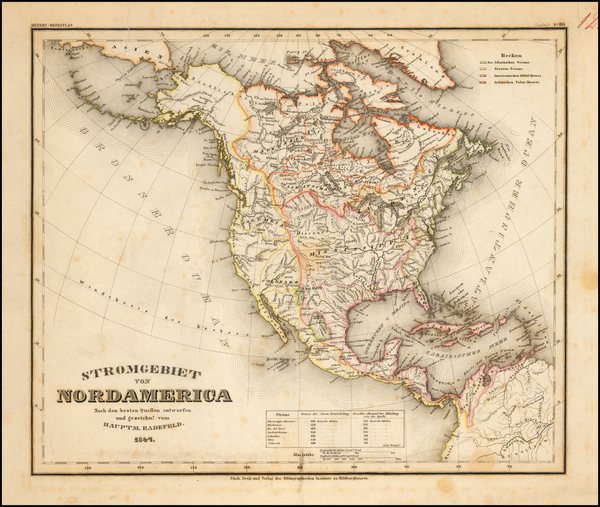 25-North America Map By Joseph Meyer