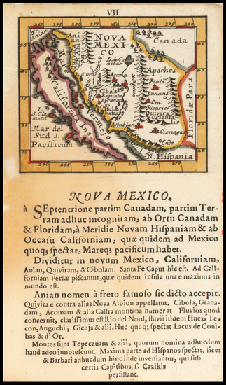 12-Baja California, California and California as an Island Map By Johann Ulrich Muller
