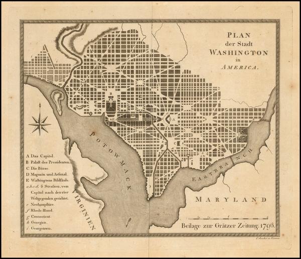 75-Washington, D.C. Map By
