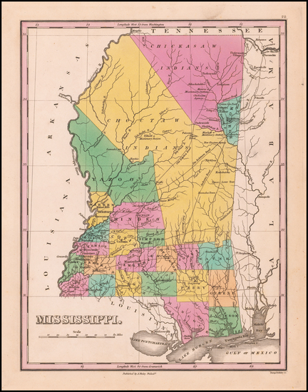 2-Mississippi Map By Anthony Finley