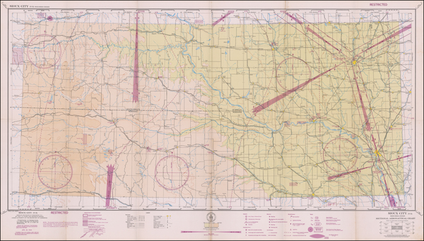 87-Iowa Map By U.S. Coast & Geodetic Survey
