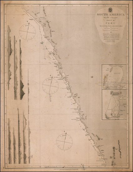 85-Peru & Ecuador Map By British Admiralty