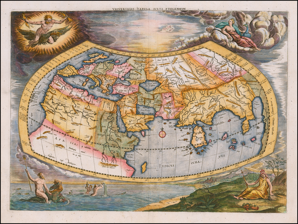 42-World Map By  Gerard Mercator