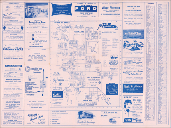 Pictorial Maps and Other California Cities Map By Northey Du Maurier