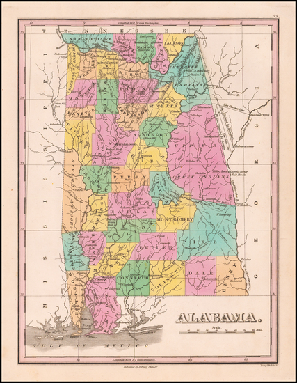 6-Alabama Map By Anthony Finley