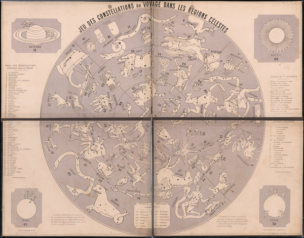 Celestial Maps Map By Franc Mignien