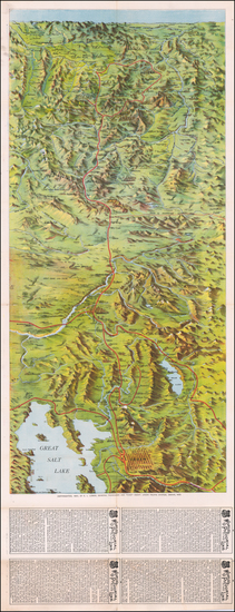 15-Utah, Idaho, Montana and Utah Map By Knight Leonard & Co.