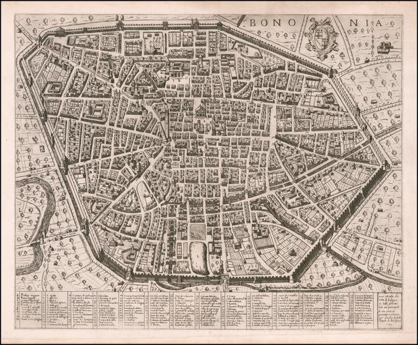 54-Other Italian Cities Map By Antonio Lafreri / Claudio Duchetti